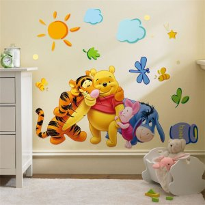 pooh wall stickers for sale