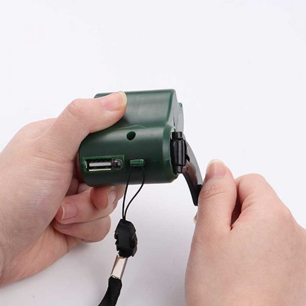 phone hand crank charger