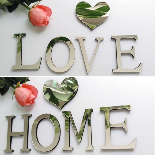 wall letter stickers for sale