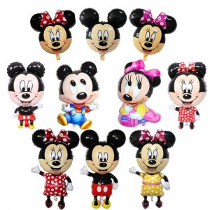 minnie mouse foil balloons