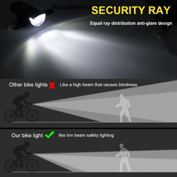 rechargeable bicycle lights