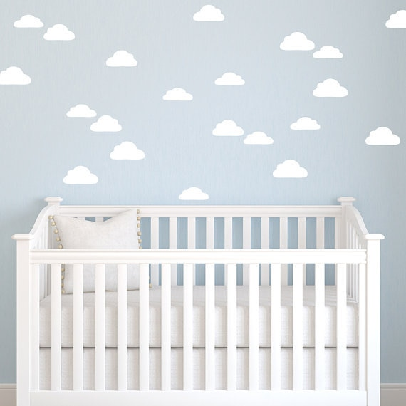 buy cloud nursery decor