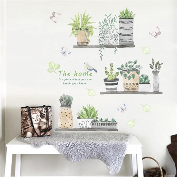 floral wall stickers cheap