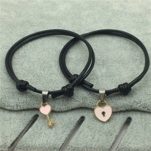 couple bracelets leather