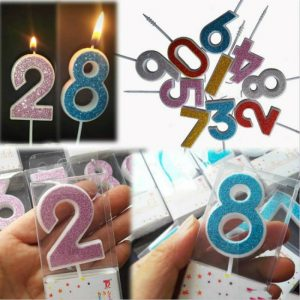 number candles for birthday cakes