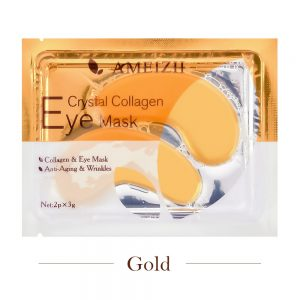 gold collagen crystal mask