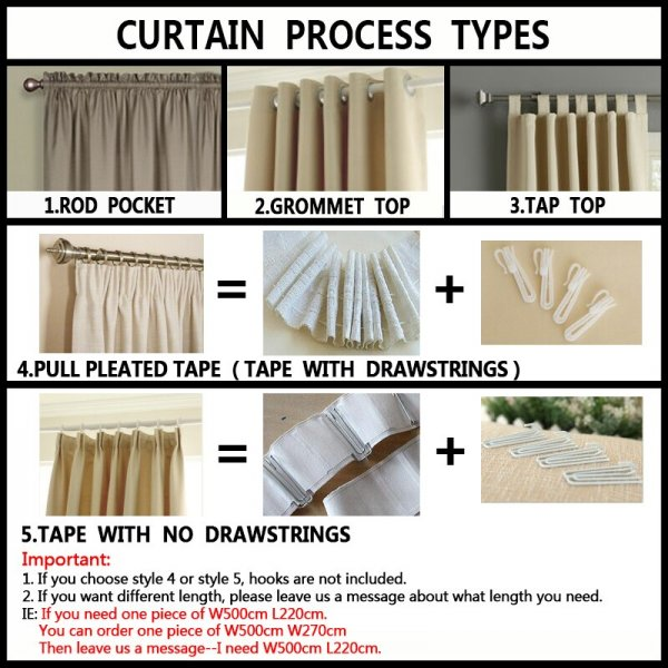 luxury curtains for sale