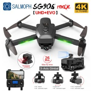 SG906 MAX Pro 2 Pro2 GPS Drone with Wifi 4K Camera Three-Axis Gimbal Brushless Professional Quadcopter Obstacle Avoidance Dron 1