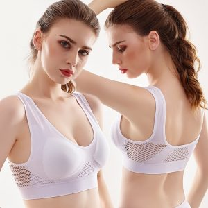 Best demanded Bras Plus Size 5XL Seamless Bra Sexy Wire Free Top Lingerie Breathable BH Women deep v-neck backless body sexy bra 2